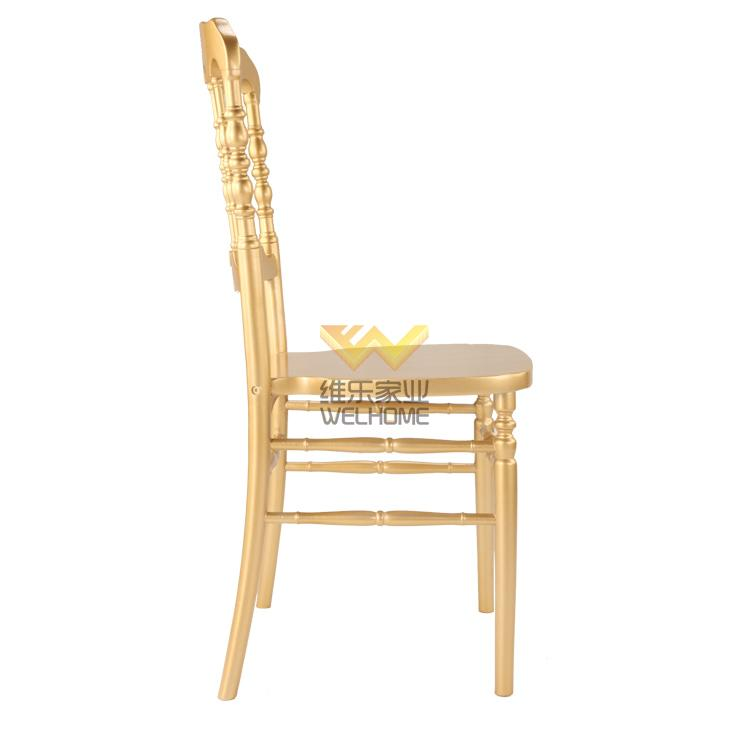 Top quality wooden napoleon chair for event hire