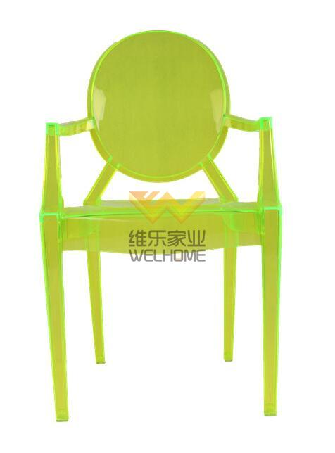 Charmant Bright Green Acrylic Ghost Chair For Event/wedding