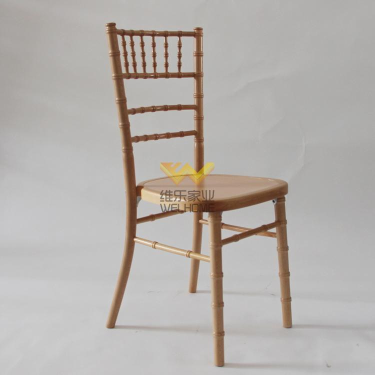 Light Brown wooden camelot chair for wedding/event
