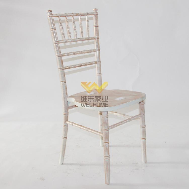 limewash wooden camelot chair for wedding/event