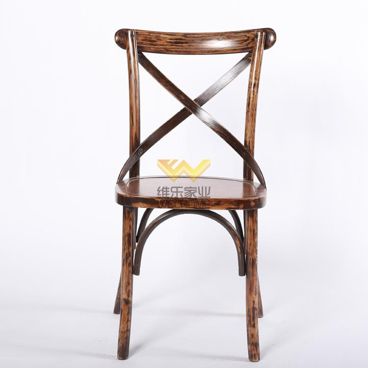 solid wood vineyard x back chair on sale