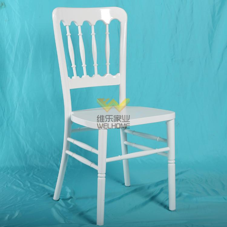 White solid wood Chateau chair for wedding/event