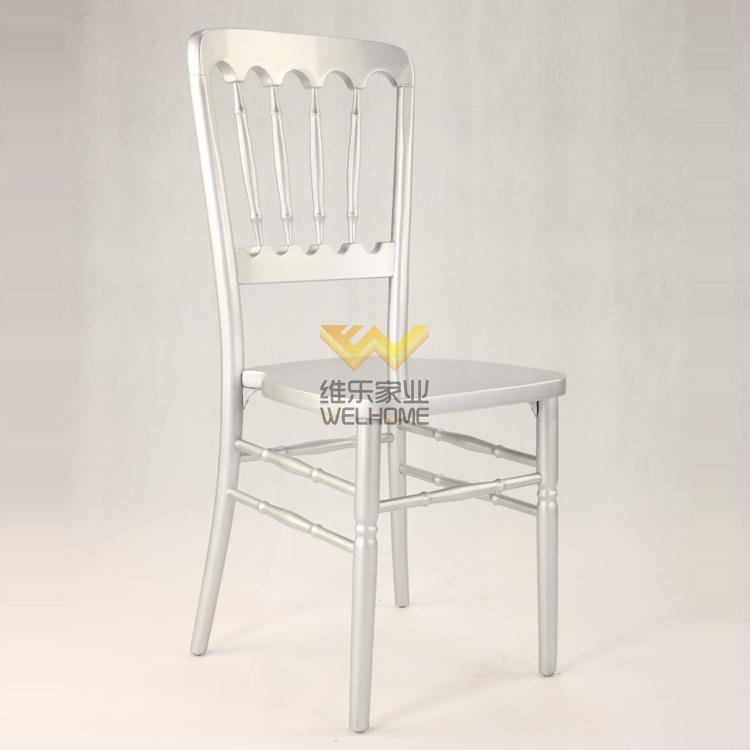 Silver solid wood chateau chair supplier