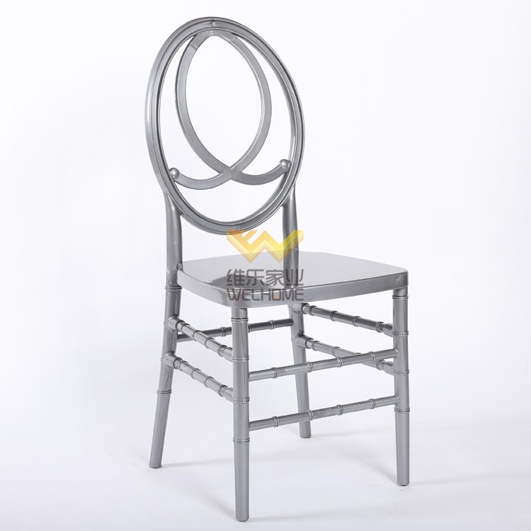 Silver Wooden Phoenix Chair for wedding/event