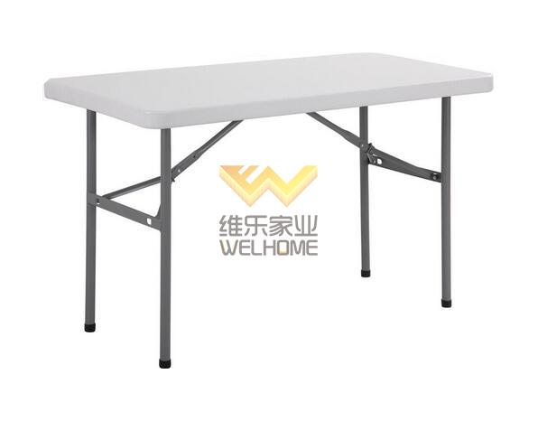 4FT Rectangular Folding Table for outdoor event/party