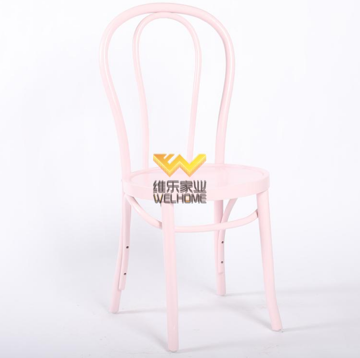 Pink Vienna Bentwood Thonet chair for wedding/event