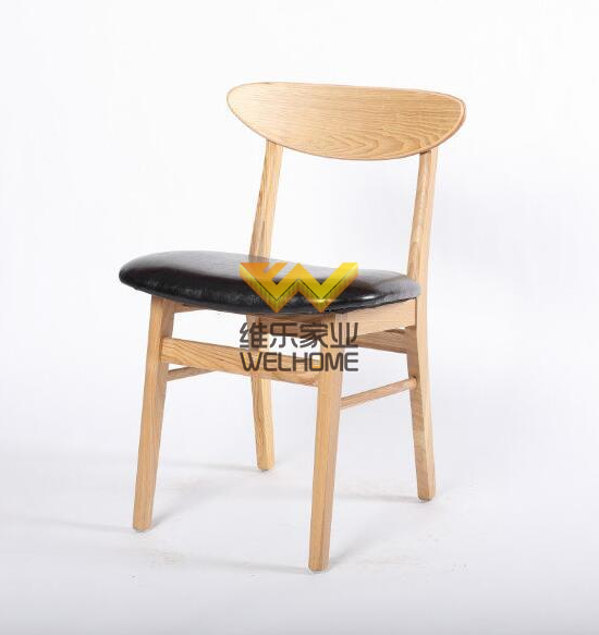 Solid wood cafe chair for sale