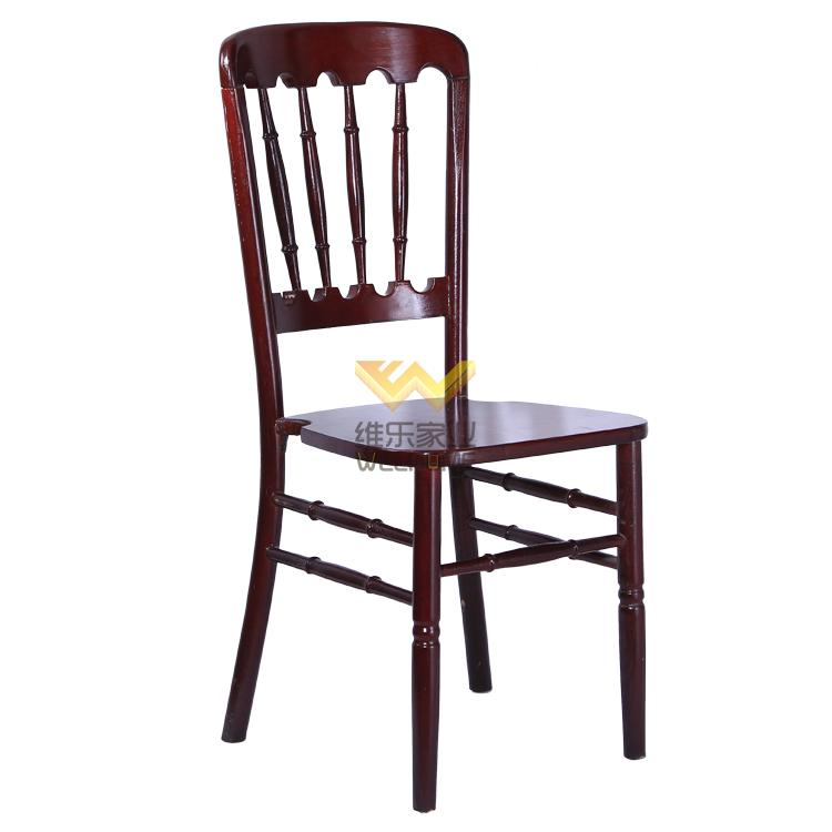 Top quality beech wood chateau chair for wedding hire