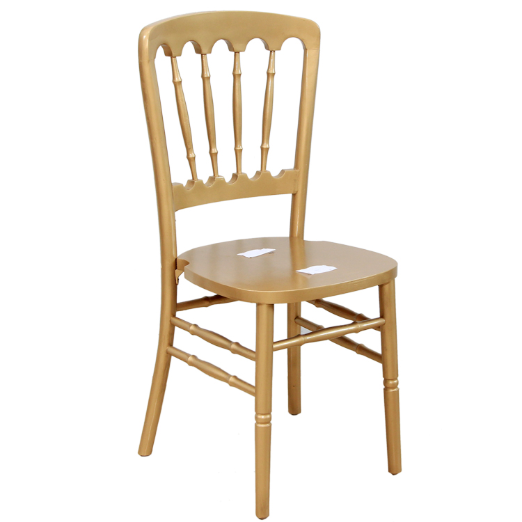 gold wood chateau chair