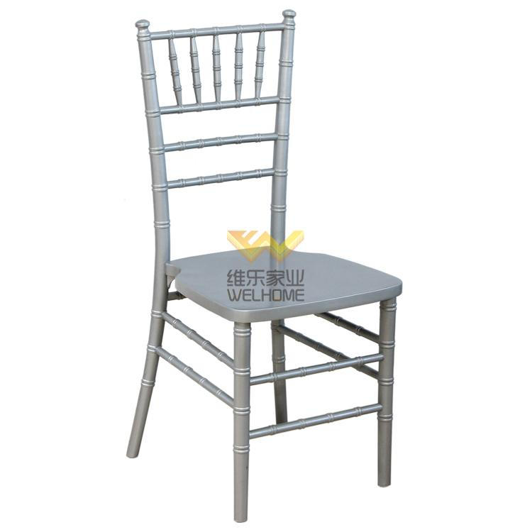Silver Wooder Chiavari Chair for wedding/event