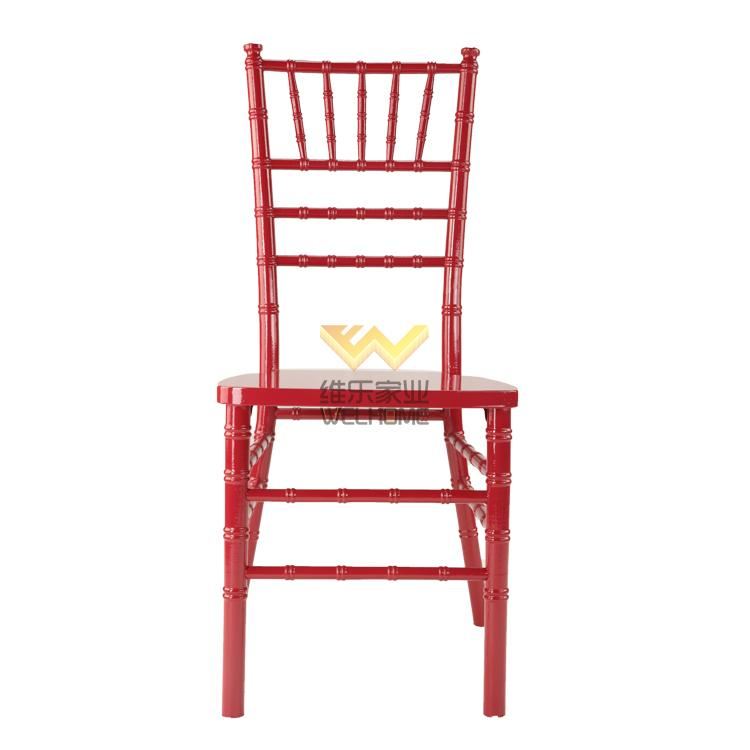 Top quality beech wood chiavari banquet chair for event and hospitality