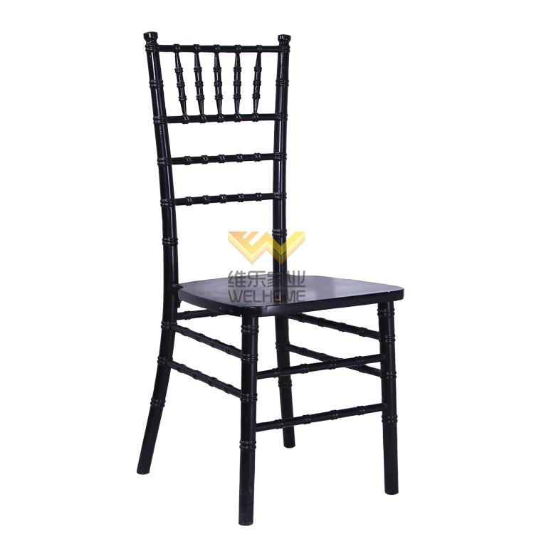 event and party use solid wood chiavari banquet chair for rental