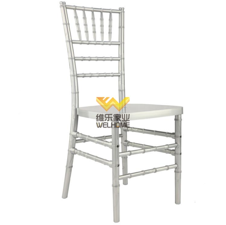 Silver PP tiffany chiavari chair for wedding/events