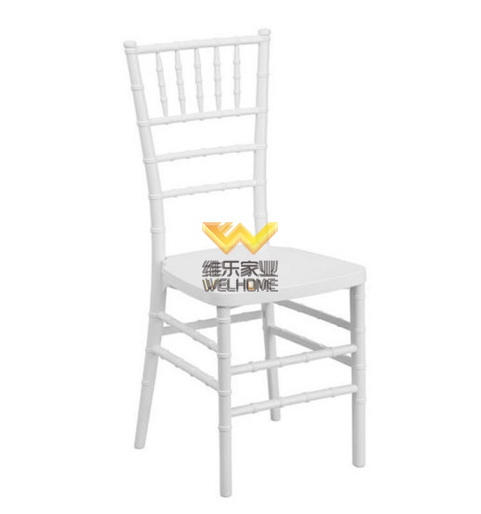 American Style Classic White Wooden Chiavari Chair