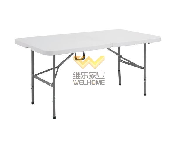 5-FT Rectangular fold in half folding table for event/outdoor activity