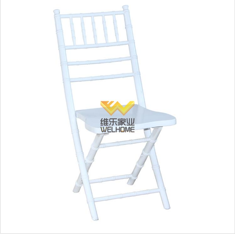 High quality light blue wooden folding chiavari chair for wedding/event