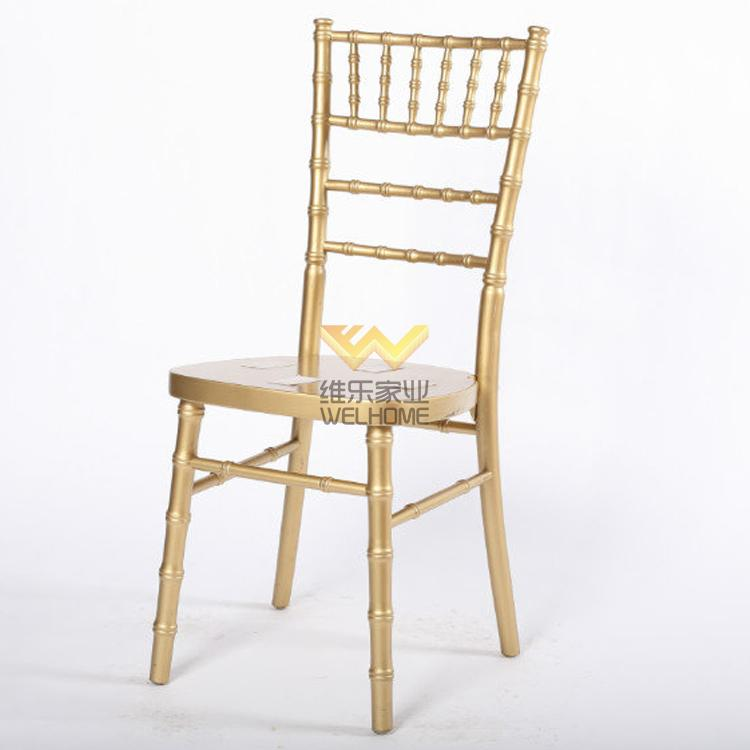 Top quality solid wood chiavari banquet chair for rental