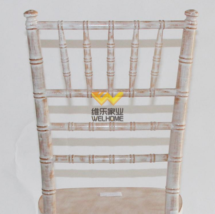 limewash wooden camelot tiffany chiavari chair for wedding/event