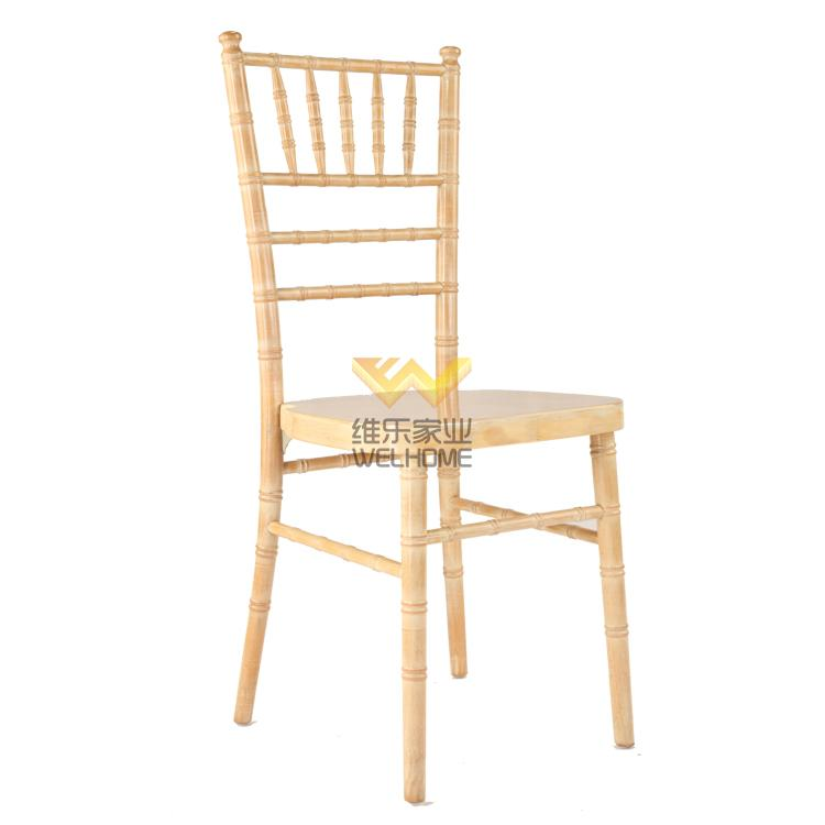 Limewash solid wood camelot chair for wedding/event