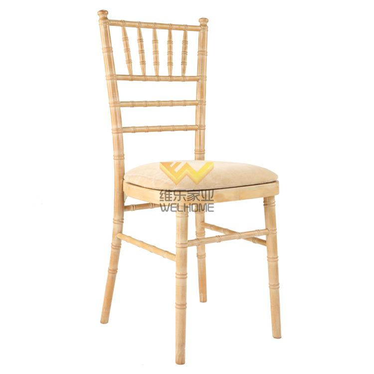 limewash wooden camelot chair with cushion for wedding/events