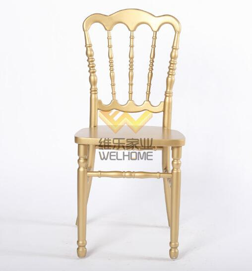 Golden Wooden Napoleon Chair for wedding/event