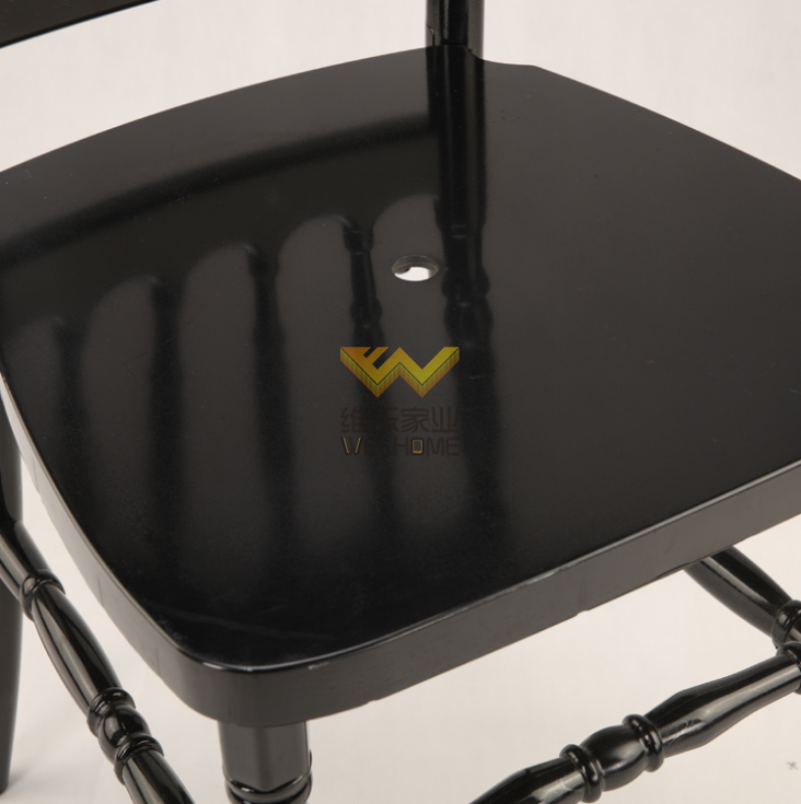 Black Resin PC Napoleon chair for evevt