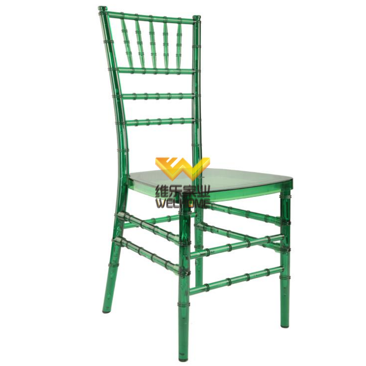 Green PC tiffany chiavari chair for wedding/Events