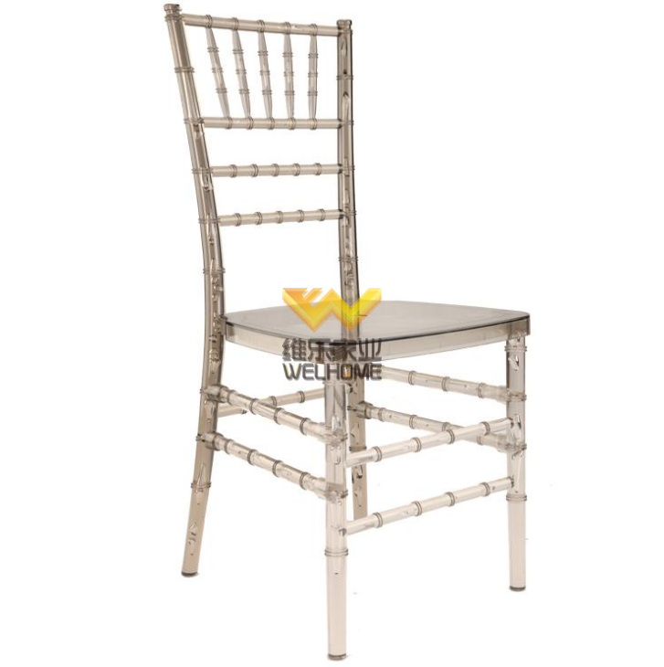 Smoke PC chiavari banquet chair for wedding /event