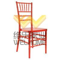 high quality red color PC chiavari chair on sale
