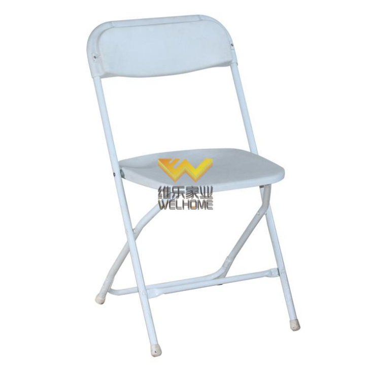 White Metal Folding Chair for outdoor event