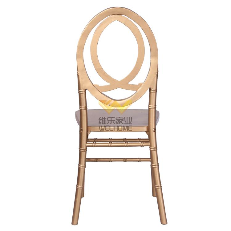 solid beech wooden channel chair for rental