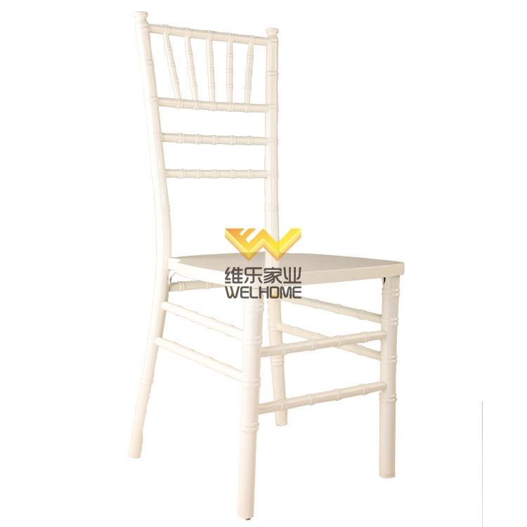 Pure White Chiavari Wedding Chair