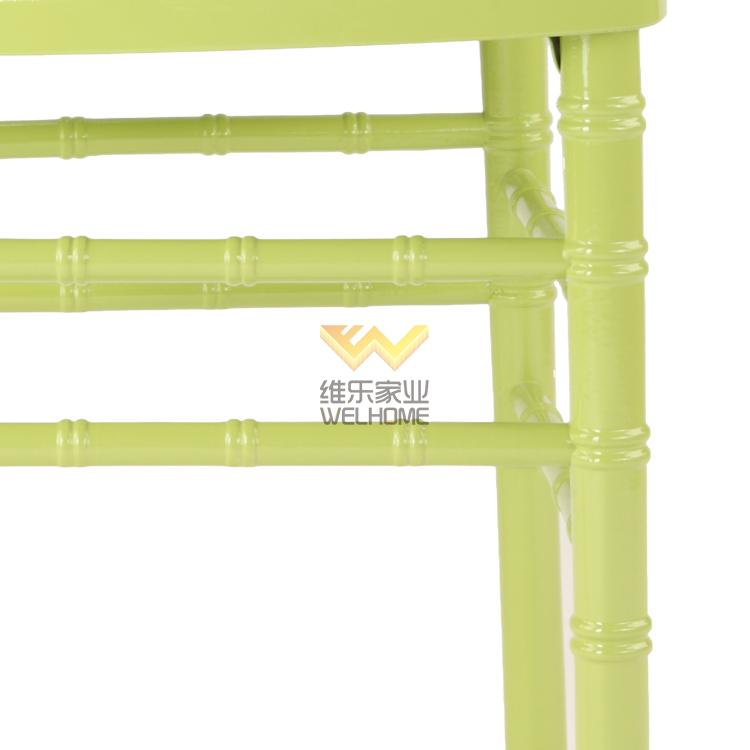 green wooden chiavari chair for wedding event china wholesale green