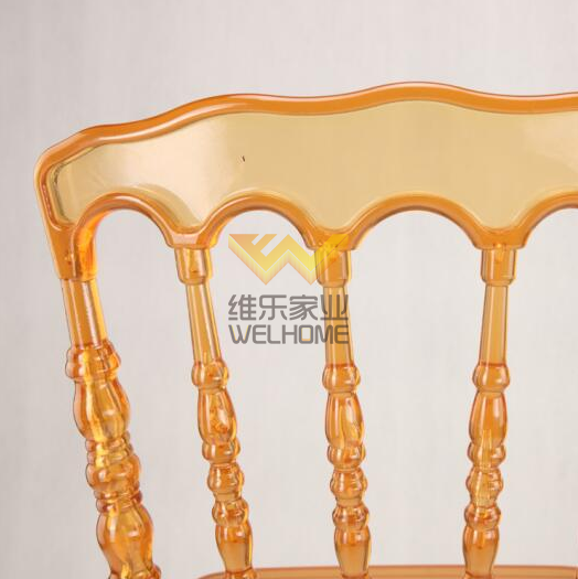 Resin napoleon wedding chair for event