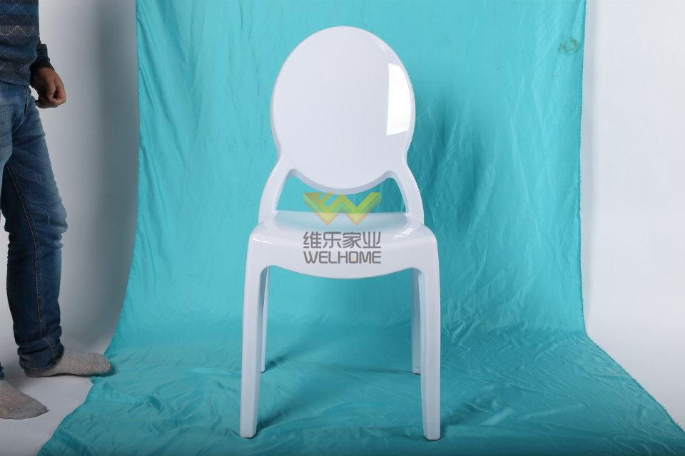 Bright  acrylic ghost chair for event/wedding