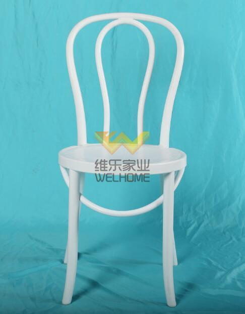 White Solid Wood Bentwood Vienna Dinning Chair for wedding/event