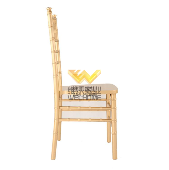 Wooden gold tiffany chiavari accent chair for event/wedding