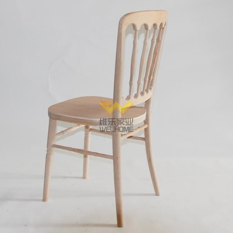 Top quality beech wooden chateau chair for wedding