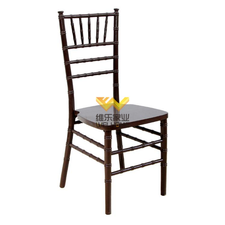 Wooden mahogany chiavari tiffany chair on sale