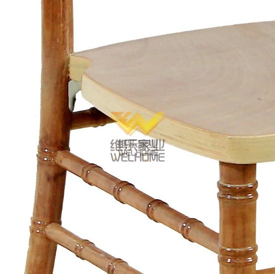 Natural wooden color comfortable chiavari chair for wedding/event