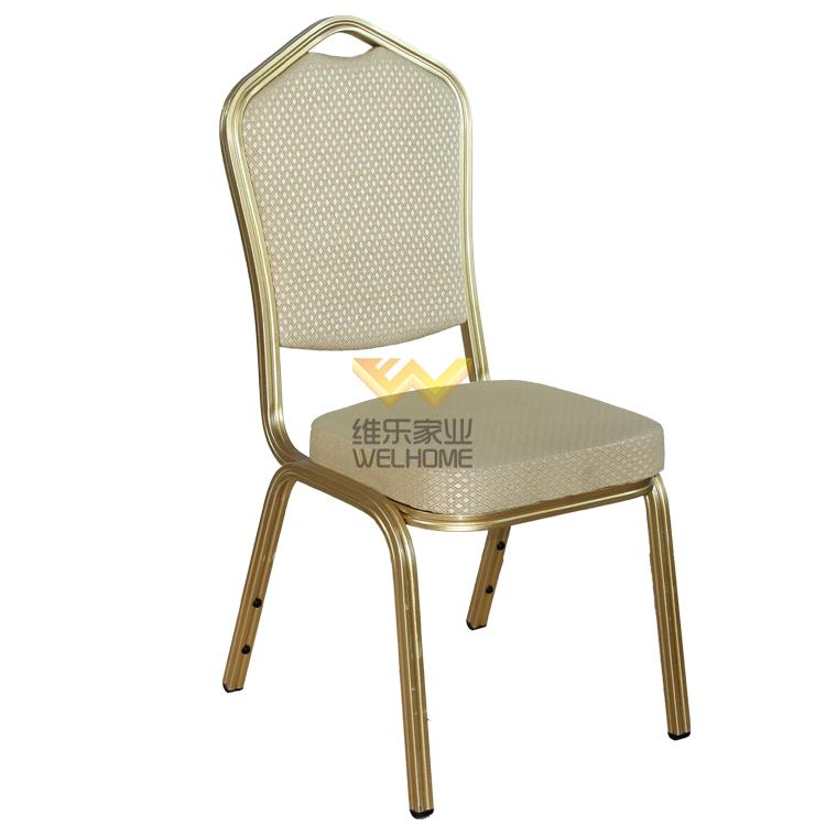 Gold metal banquet chair for event/meetings