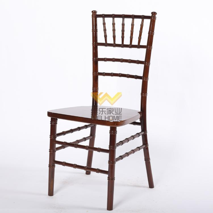 Solid beech wood tiffany chair for wedding