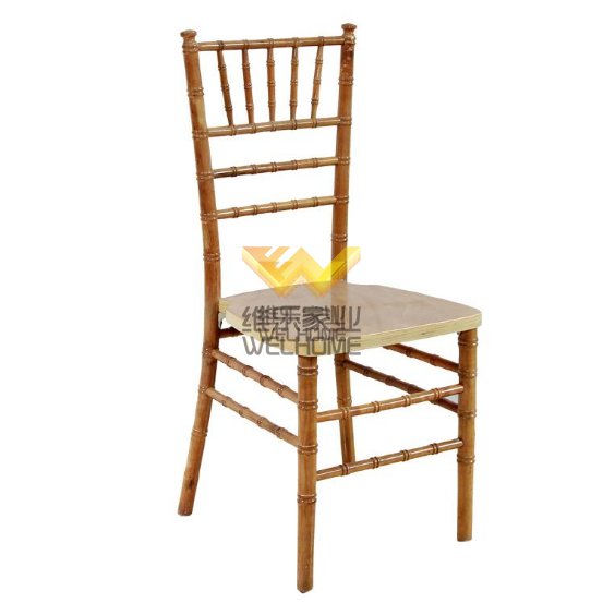 Natural wooden color chiavari chair for wedding/event
