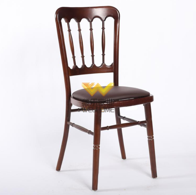 solid beech wood chateau chair for event/wedding
