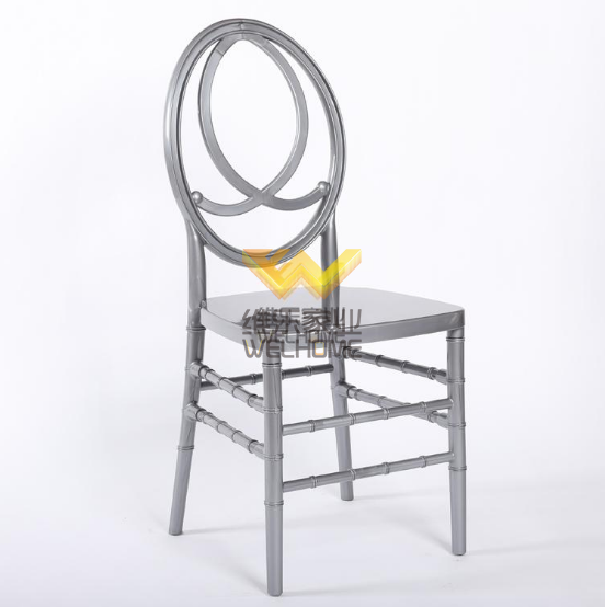 Silver Wooden Phoenix  wedding Chair for banquet/event