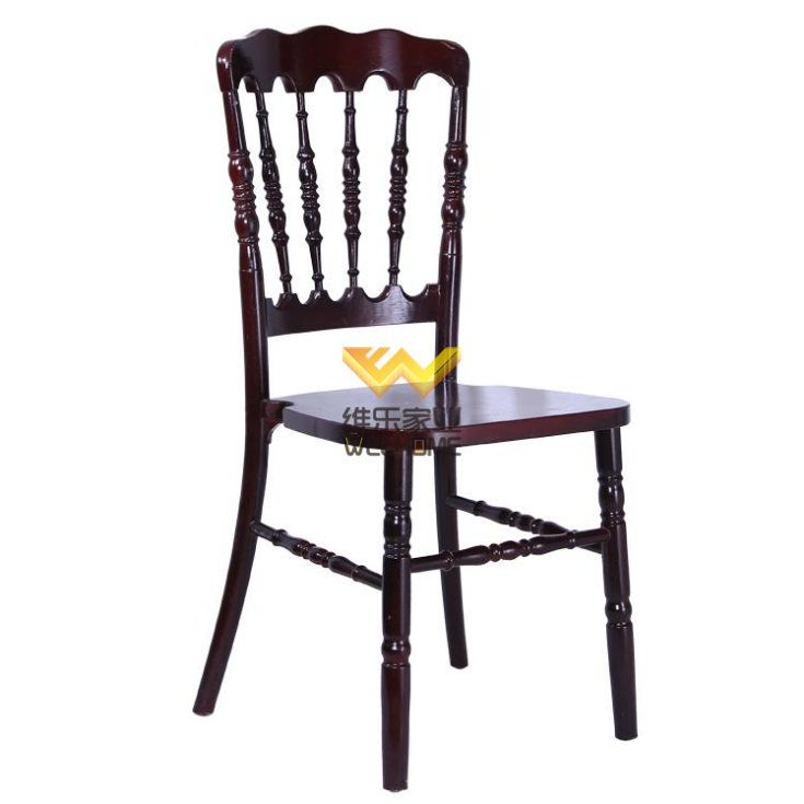 hotsale solid beech wood napoleon chair wholesale