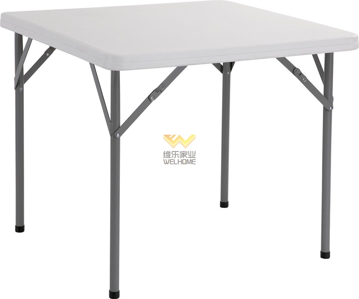 Plastic Square folding table for event/meetings