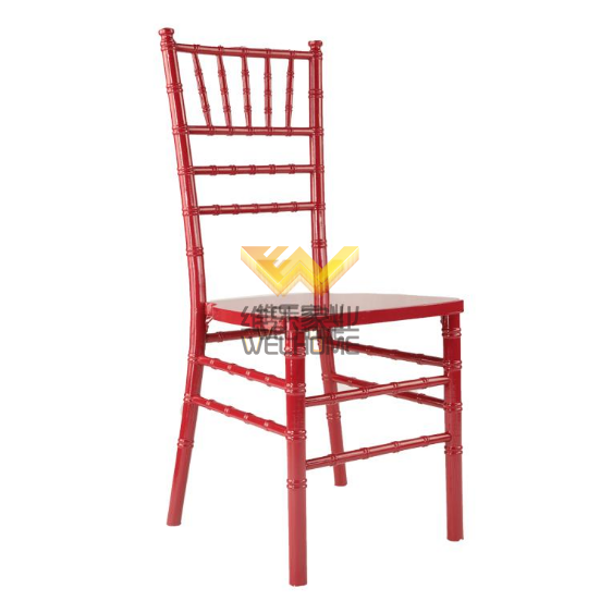 hotsale locust tree wood chiavari chair for hire