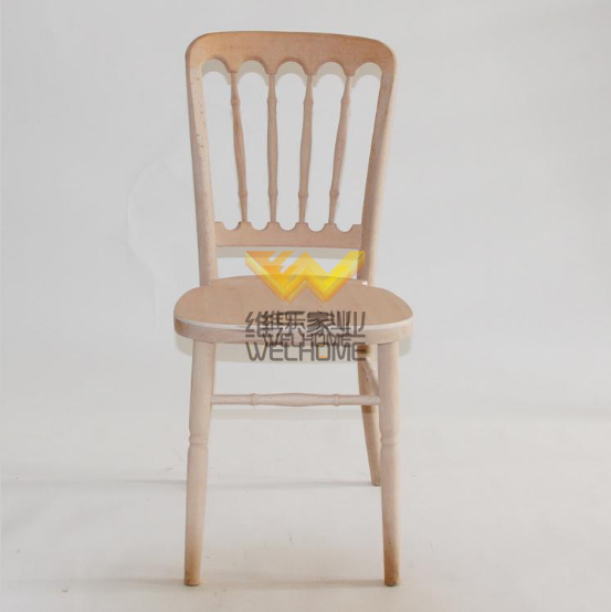 Event use wooden chateau banquet chair for sale