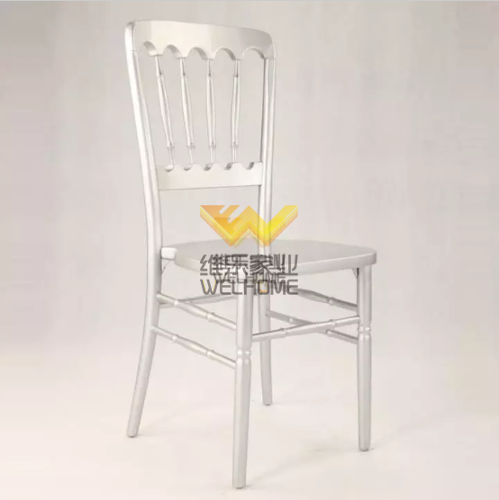 Hotsale Silver solid wood chateau chair for events